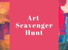 Art Scavenger Hunt 2020
