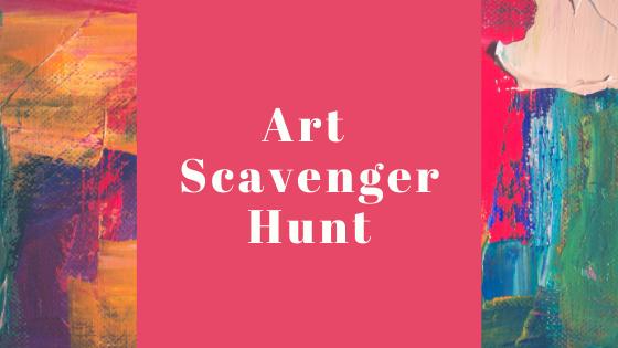 Art Scavenger Hunt 2020
