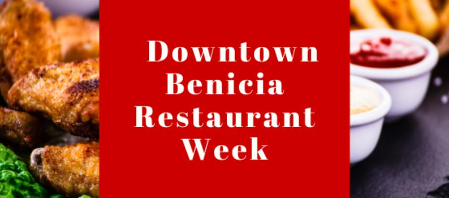 Downtown Benicia Restaurant Week