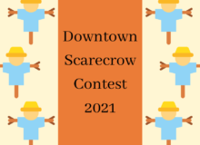 Downtown Scarecrow Contest 2021