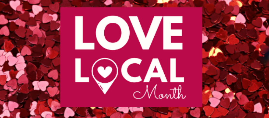 Love Local Month Banner